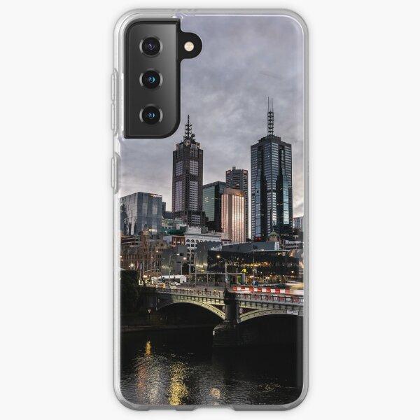 Melbourne at Daybreak Samsung Galaxy Soft Case