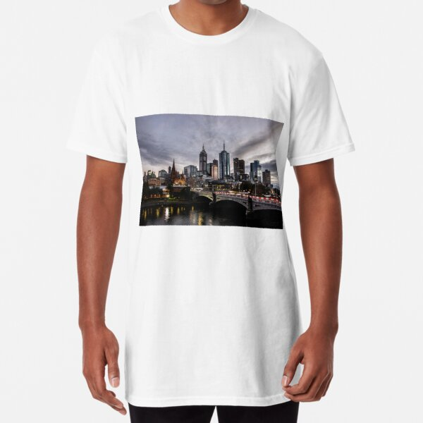 Melbourne at Daybreak Long T-Shirt