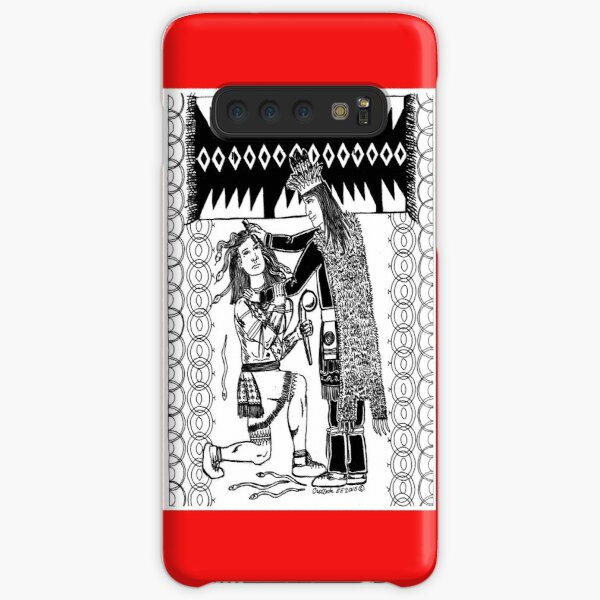 Peacemaker comb the snakes out of Atotarhoh hair Samsung Galaxy Snap Case