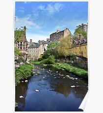Dean Village - Edinburgh Poster