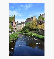 Dean Village - Edinburgh Photographic Print