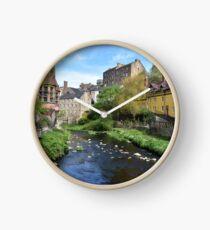Dean Village - Edinburgh Clock