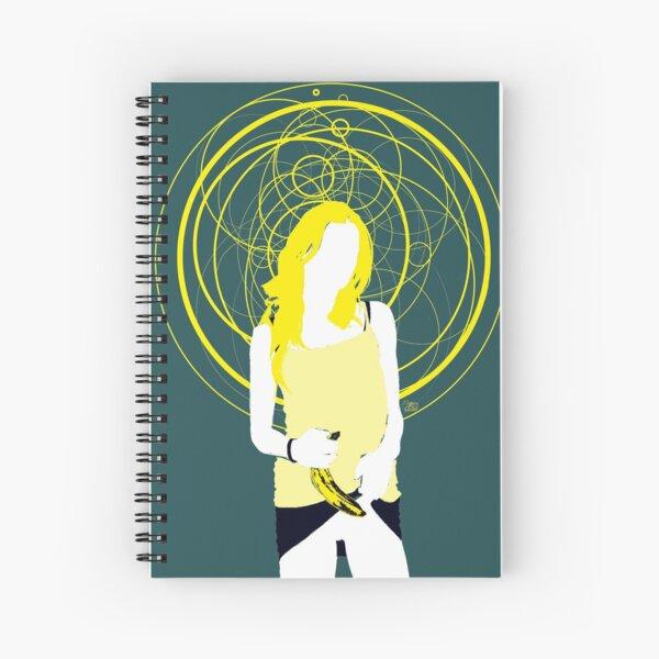 andy warhol's banana Spiral Notebook