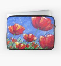 Summer Poppies Laptop Sleeve