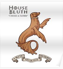 Bluth Family Seal Poster