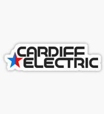 CARDIFF ELECTRIC GREY Sticker