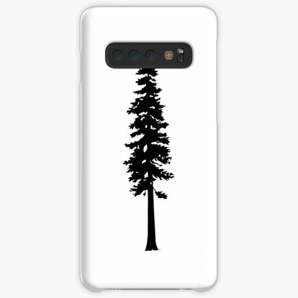 Redwood Tree Silhouette Samsung Galaxy Snap Case