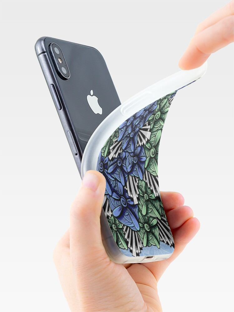 Alternate view of Zentangle Petal-Floodlights iPhone Case & Cover