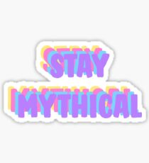 Bleib Rad; Mythisch bleiben (Sommer) Sticker