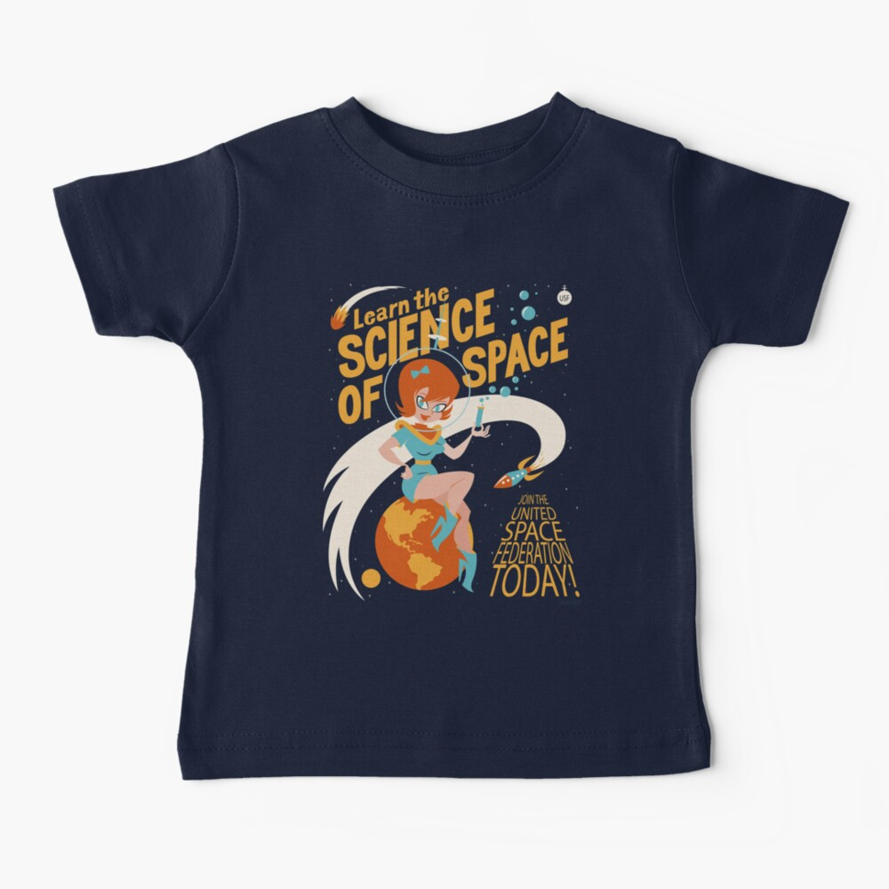 United Space Federation Baby T-Shirt