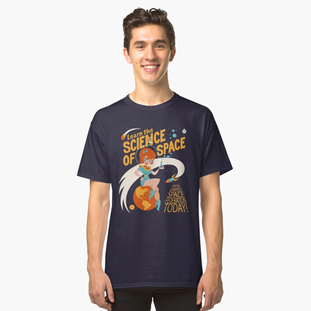 United Space Federation Classic T-Shirt
