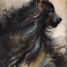 Fleeting: Tumultuous (Brown Hyena) by NoelleMBrooks