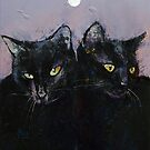 Gothic Cats by Michael Creese