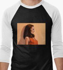 Natalie Portman Baseballshirt für Männer