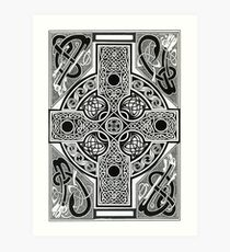 Celtic Cross Art Print