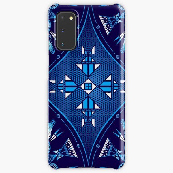 Buffalo Gathering Blue Samsung Galaxy Snap Case
