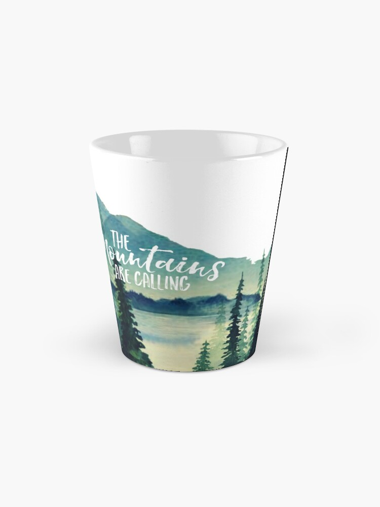 Alternate view of The Mountains are Calling Mug