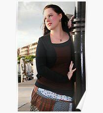Adara Rosalie At Darling Harbour Poster