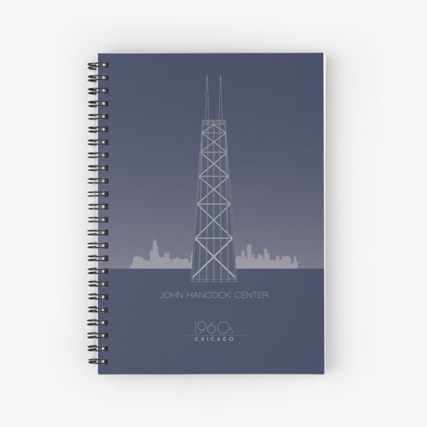 John Hancock Center Spiral Notebook