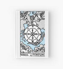 Modern Tarot Design - 10 Wheel of Fortune Hardcover Journal