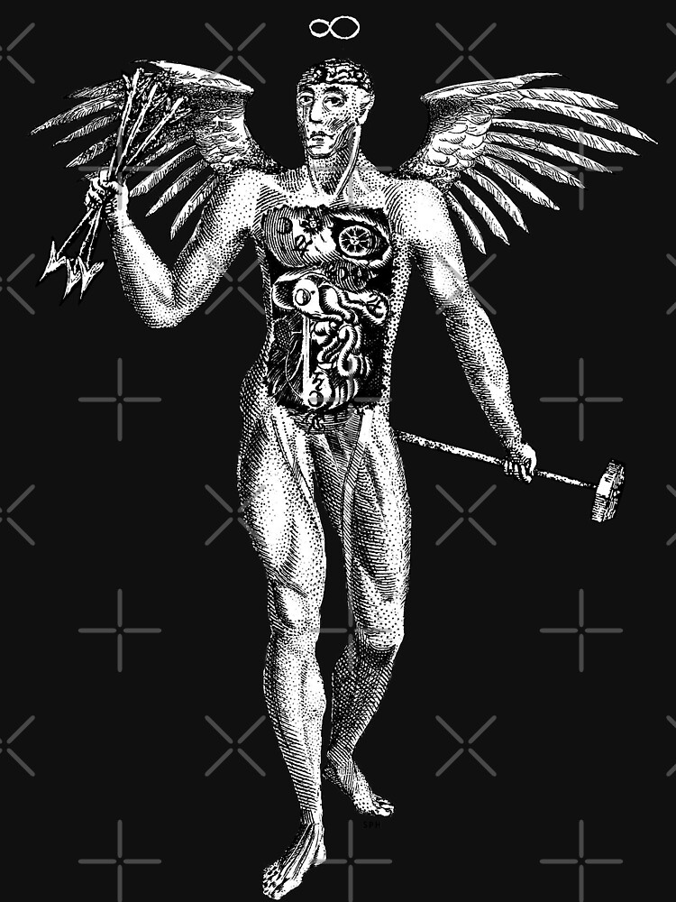 Flayed Man Spirit of the Occult by forge22