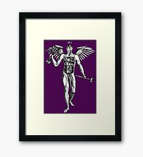Flayed Man Spirit of the Occult Framed Print