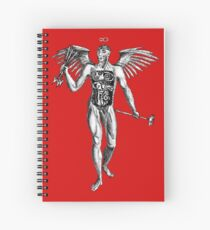 Flayed Man Spirit of the Occult Spiral Notebook
