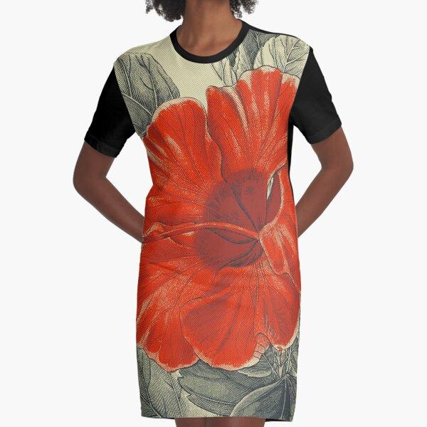 Vintage Garden 17 Graphic T-Shirt Dress