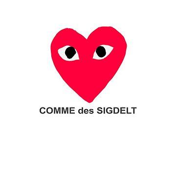 comme des sigdelt by evelyngruen