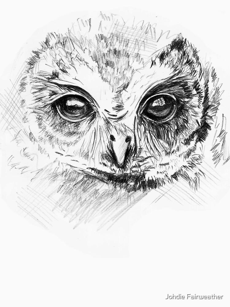 Owl Sketch by johdie