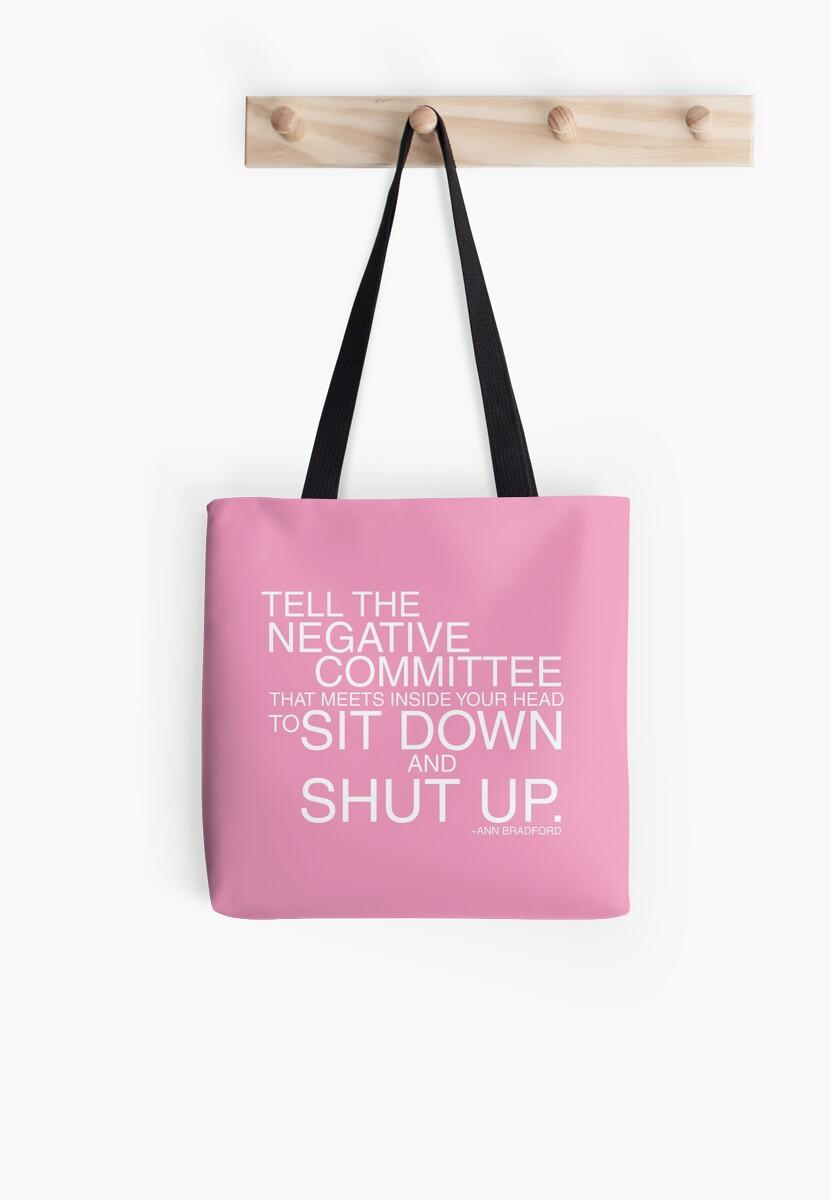 Negative Committee - Pink by Jeri Stunkard