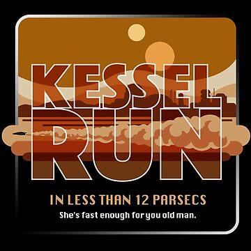 Kessel Run  by JohnBealDesign
