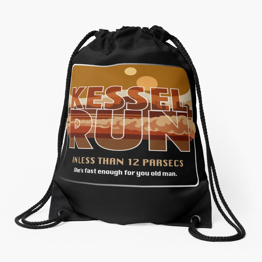 Kessel Run  Drawstring Bag