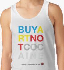 Buy Art Not Cocaine Camiseta de tirantes