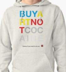 Buy Art Not Cocaine Sudadera con capucha