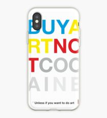 Buy Art Not Cocaine Vinilo o funda para iPhone