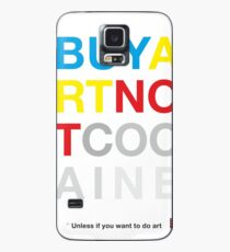 Buy Art Not Cocaine Funda/vinilo para Samsung Galaxy