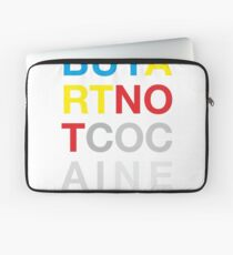 Buy Art Not Cocaine Funda para portátil