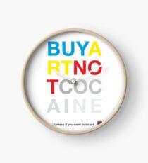 Buy Art Not Cocaine Reloj