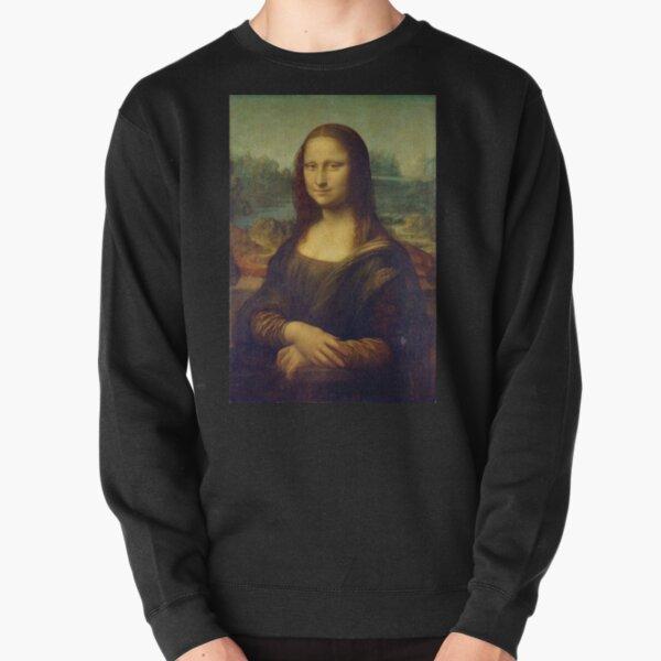 Mona Lisa  Pullover Sweatshirt