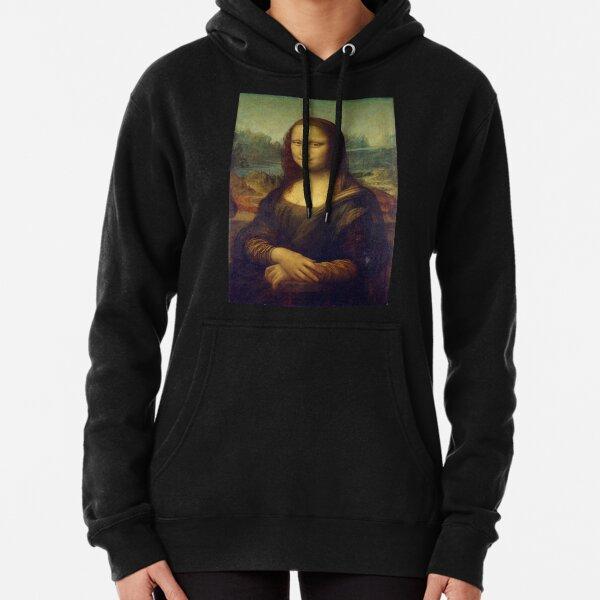 Mona Lisa  Pullover Hoodie