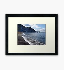 Pilar Rock, Cabot Trail Framed Print