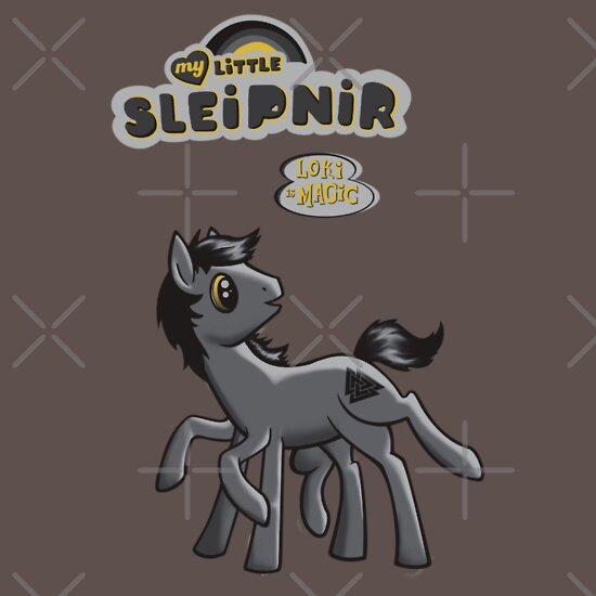 f57a78f41 My Little Sleipnir 2 | Unisex T-Shirt, a t-shirt of geek, nerd, mlp ...
