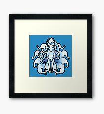 Alolan Ninetales Framed Print