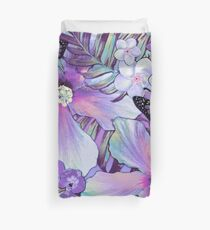 Orchid Hibiscus Tropical Duvet Cover