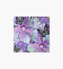 Orchid Hibiscus Tropical Art Board
