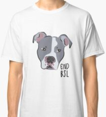 END BSL - Grey Classic T-Shirt