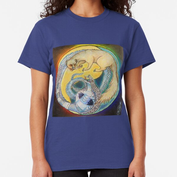 Rikki Tikki Tavi Does Battle With Nag Classic T-Shirt