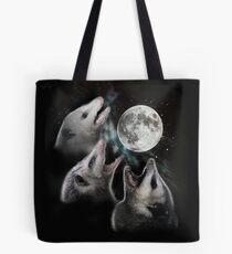 3 Opossum Mond Tote Bag