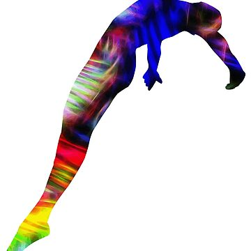 Gymnast Colorful by eribubble